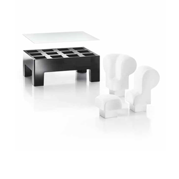 Assise modulable table basse